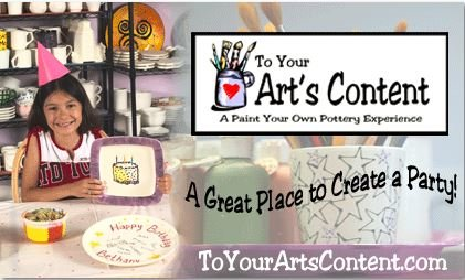 To Your Arts Content Is A Paint Own Pottery Studio Offering Three Kiln Fired Painting Glass Fusing And Clay