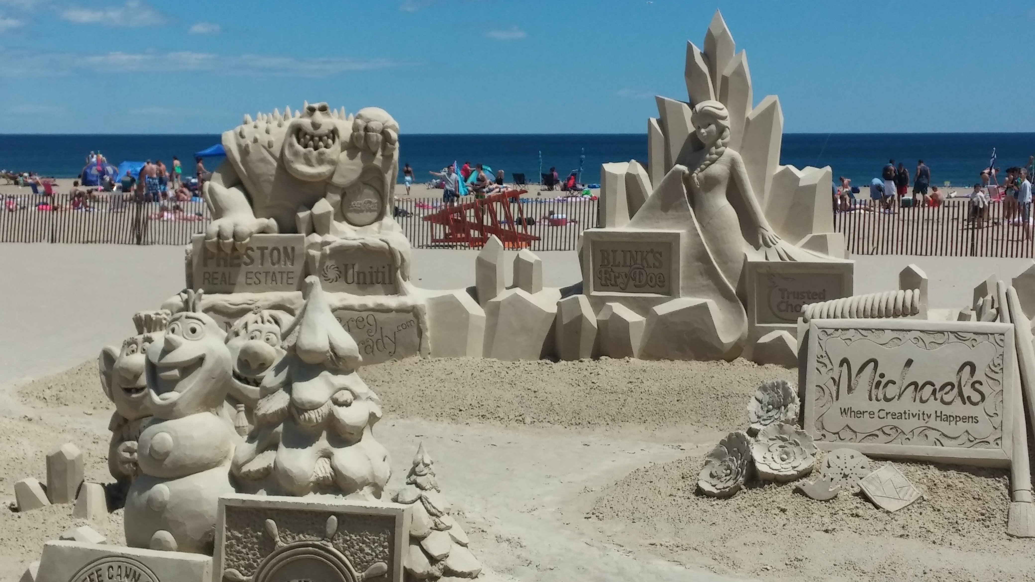 Tomorrow There Will Be A Voting For People S Choice Award From 1 00pm 4 Where You Can Vote Your Favorite Sand Sculpture The Awards Ceremony
