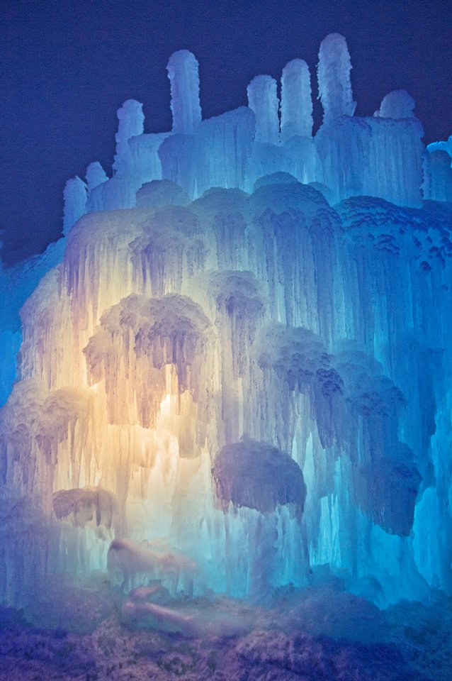 Colored Led Lights >> New Hampshire Ice Castles - Frozen Wonderland Returns to Lincoln, NH - New Hampshire KidsNew ...