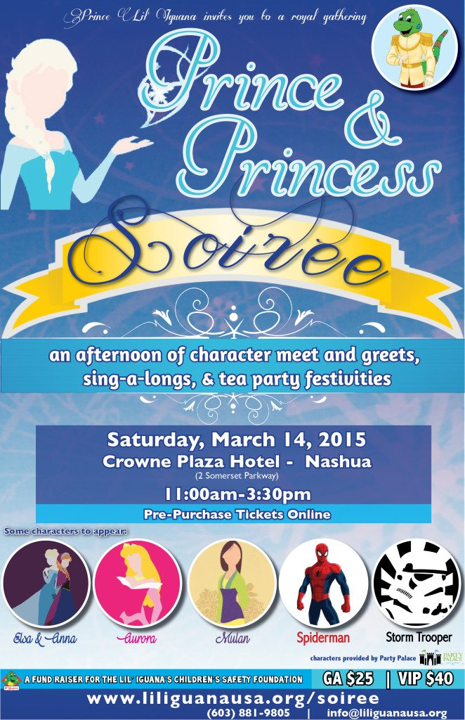 Prince & Princess Soiree Full Poster