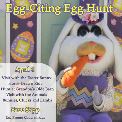 Charmingfare Farm's Egg-Citing Easter Egg Hunt - New Hampshire