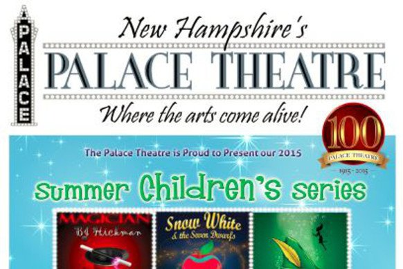 The Palace Theatre's Summer Series for Children 2015