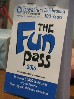 BreatheNH Fun Pass Coupon Book~ Giveaway