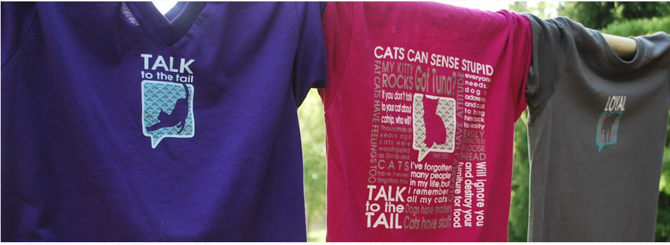 Talk it Up Cat tee