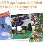 Ice Cream Deals, Zoo Admission Deals, Kayaking Deals and more….