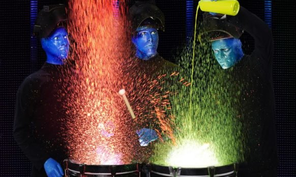 Blue Man Group 25th Anniversary: Giveaways, Discounts & Family Pack Giveaway