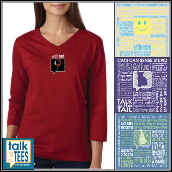 Giveaway: TALK IT UP TEES