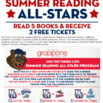 Fisher Cats FREE Tickets: Summer Reading All-Stars