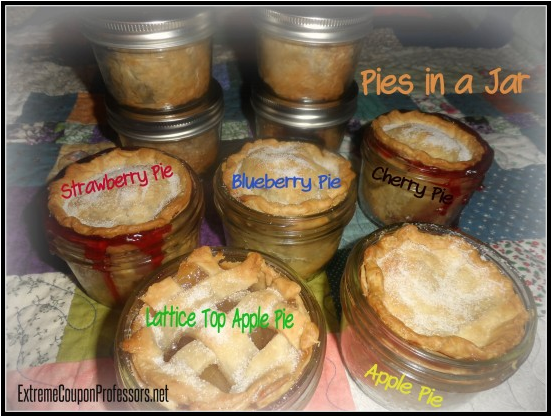 Picnic Recipe Menu Series: Pies In A Jar
