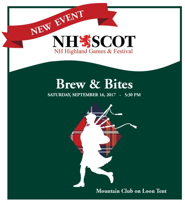 NH Highland Games Brew & Bites Dinner Event