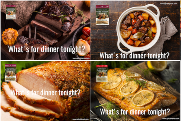 #Giveaway! What's For Dinner? You Choose With Spice Blends!