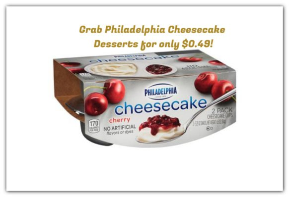 Shaws Shopper! Grab Philadelphia Cheesecake Desserts for only $0.49!
