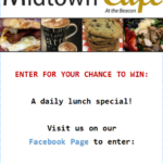 Midtown Cafe' Lunch Giveaway!!!!