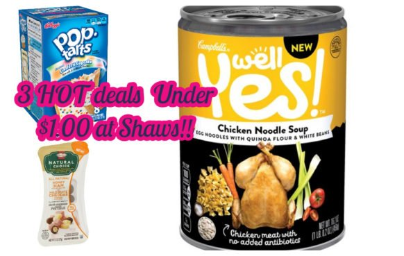 3 HOT deals on Soup, Cereal & Hormel!