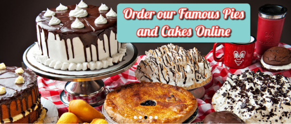 Order You Holiday Cakes & Pies