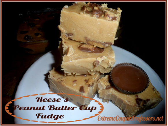 Peanut Butter Cup Fudge Recipe